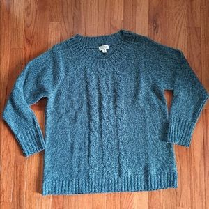 Sweaters - Great Northwest Clothing Co. Teal Marled Sweater